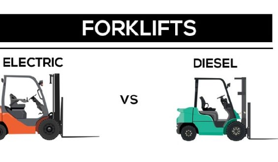 Everything You Ought to Know About Diesel and Electric Forklifts