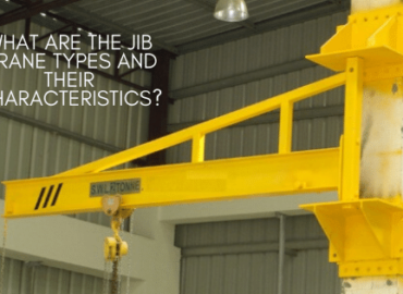 What are the jib crane types and their characteristics?