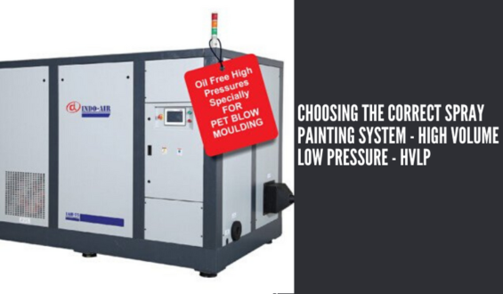 Choosing The Correct Spray Painting System – High Volume low Pressure – HVLP