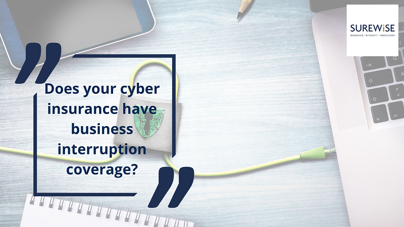Does your cyber insurance have business interruption coverage?