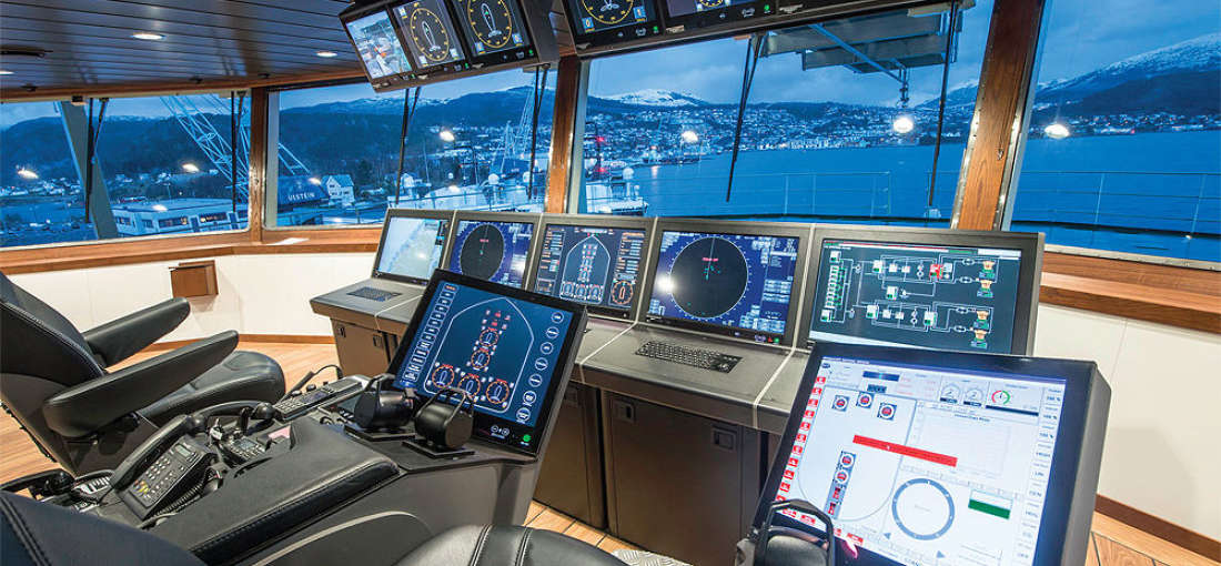 Dynamic positioning system: types and working principle