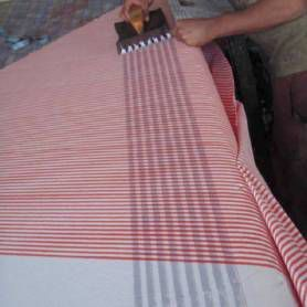 block print table cloth