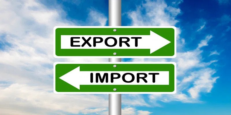 What are the five parameters of growth in the import-export industry?