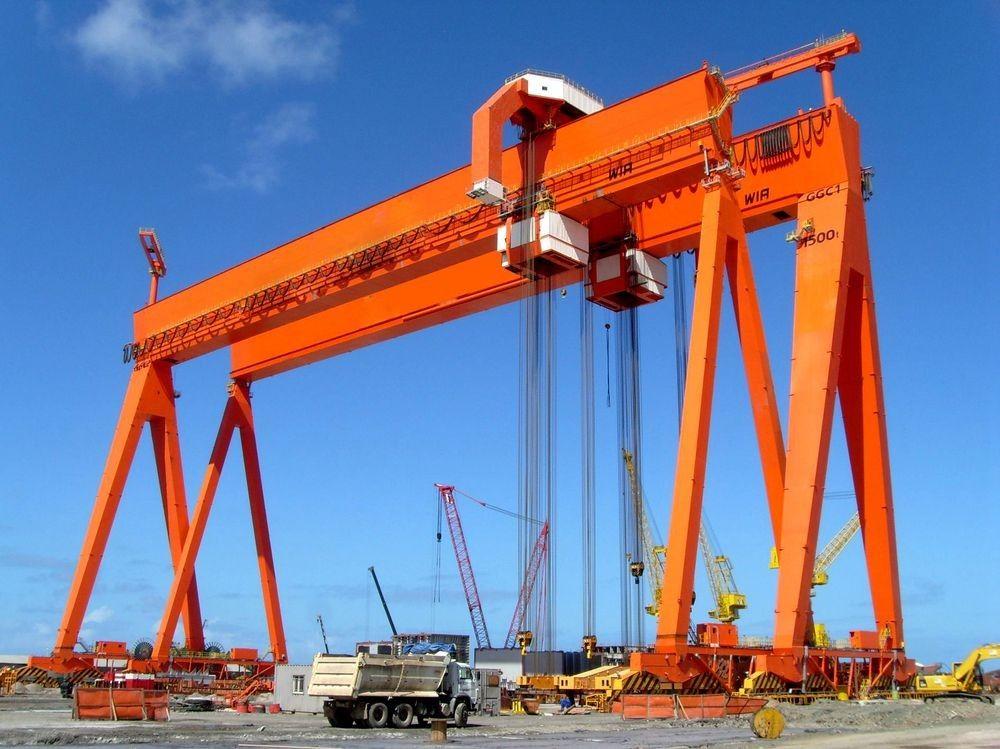 A lower-cost alternative to overhead crane-gantry crane